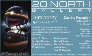 """Luminosity"" postcard"