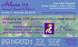 """Athena 115"" postcard"