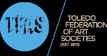 Toledo Federation of Art Societies (TFAS) logo