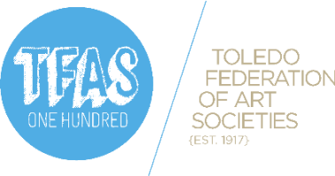 Toledo Federation of Art Societies (TFAS) logo