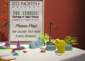 Please Play! And Unleash Your Inner Plastic Dinosaur...