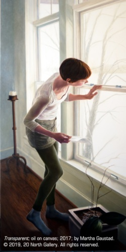 """""""Transparent,"""" oil painting by Martha Gaustad"""