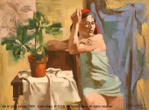"""Ala III"" oil on canvas by Adam Grant, 1981"