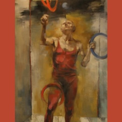 02_The Juggler_oil on canvas_by Adam Grant_60x34inches_20N